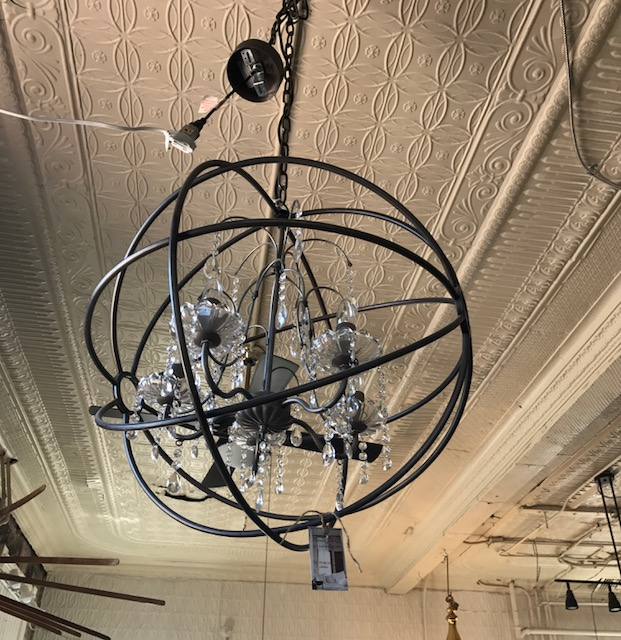 Light fixture from Porch & Atelier